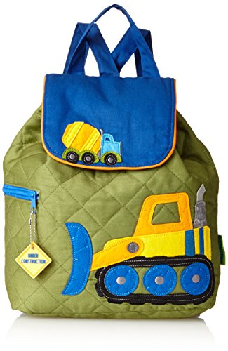 Stephen Joseph Quilted Backpack, Construction, One Size