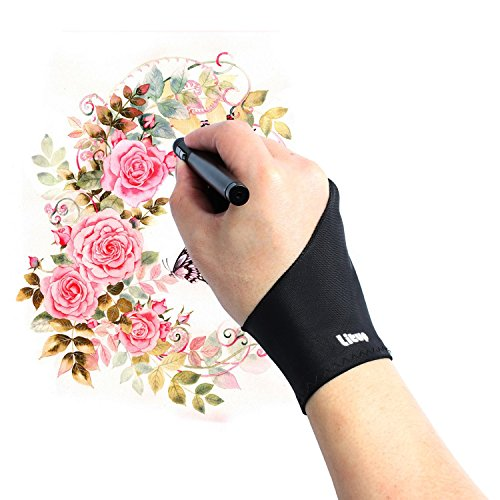 artist-glove-litup-free-size-anti-fouling-drawing-glove-with-two-fingers-for-graphics-tablet-pen-dis