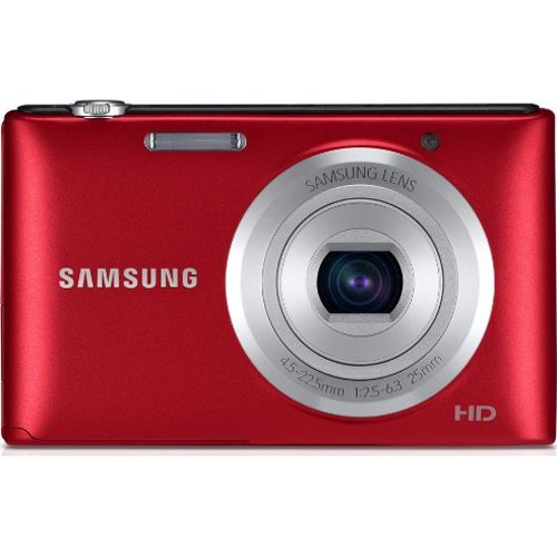 Samsung ST72 16.2MP 3-inch TFT LCD Digital Camera (Red)