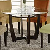 Coaster Home Furnishings 101490 Casual Dining Table Base, Cappuccino