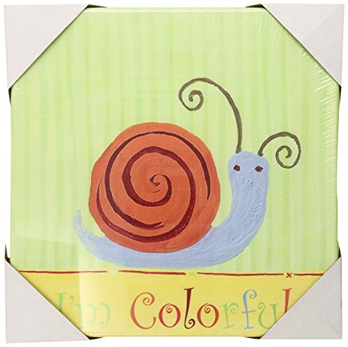 The Little Acorn Learn Your Colors Wall Art, Snail - 1