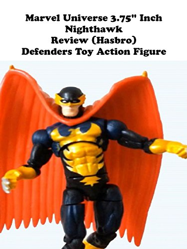 "Marvel Universe 3.75"" NIGHTHAWK review (Hasbro) Defenders toy action figure"
