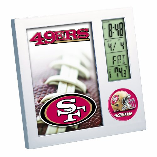 NFL San Francisco 49Ers Digital Desk Clock