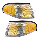 1994-1998 Ford Mustang Corner Park Light Turn Signal Marker Lamp Pair Set Left Driver Side AND Right Passenger Side (1994 94 1995 95 1996 96 1997 97 1998 98)
