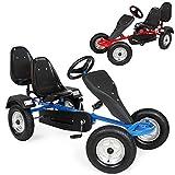 TecTake Go Kart Coche con Pedales - disponible en diferentes colores - (Azul)