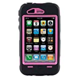 Apple iPhone 3G and Apple iPhone 3GS Otterbox Defender Series Case and Holster Clip (Black and Pink)