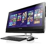 Lenovo B750 73,66 cm (29 Zoll FHD LED) All-in-One Desktop-PC (Intel Core i7-4770, 3,9 GHz, 8GB RAM, 2TB HDD, Nvidia GeForce GTX 760A/1GB,Blu-ray Brenner, Win 8) schwarz