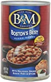 B&M Boston's Best Baked Beans, with Molasses and Brown Sugar, 16 Ounce Cans (Pack of 12)