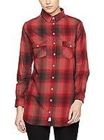 Franklin & Marshall Camisa Mujer (Rojo)
