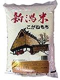 28年産【もち米】特別栽培米 新潟産 精白米 こがねもち 5kg (5kg)