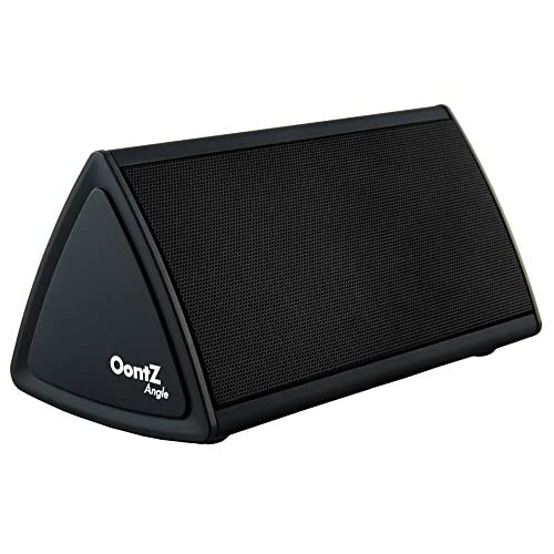Cambridge SoundWorks OontZ Angle Enhanced Edition Ultra Portable Wireless Bluetooth Speaker with up to 12 Hour Battery Life... Great sound, Surprising Volume and Built in Mic for Handsfree Speakerphone... The Perfect Speaker for your: iPhone, iPad, Samsung, Android smartphones, mp3 players and tablets.