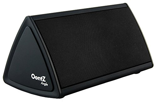 Cambridge SoundWorks OontZ Angle Enhanced Edition Ultra Portable Wireless Bluetooth Speaker with up to 12 Hour Battery Life... Great sound, Surprising Volume and Built in Mic for Handsfree Speakerphone... The Perfect Speaker for your: iPhone, iPad, Samsung, Android smartphones, mp3 players and tablets. Matte Black with Black Grille