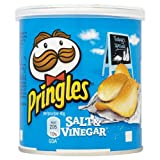 Pringles Salt & Vinegar 40g Price Marked 59p (Pack of 12)