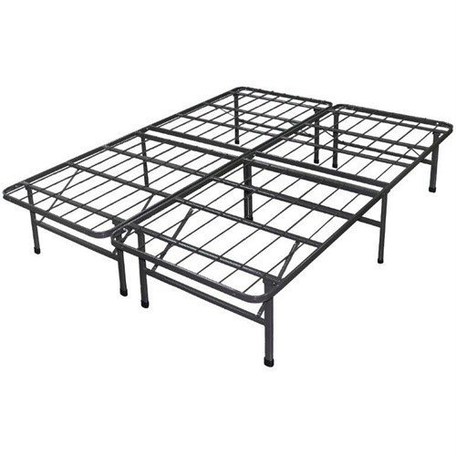 Review Of Best Price Mattress New Innovated Box Spring Metal Bed Frame, Queen
