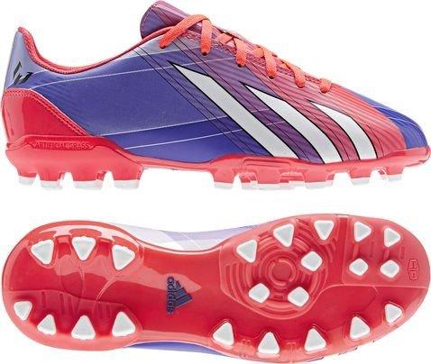Adidas Scarpe da calcio F10 Trx Ag J Turbo/Blk 38m Junior