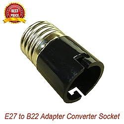 FastTech DX13494 E27 to B22 Lamp Bulb Adapter Converter Socket