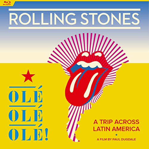 Blu-ray : The Rolling Stones - Ole Ole Ole  A Trip Across Latin America (Digipack Packaging)