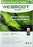 Webroot Secure Anywhere Internet Security Complete 2014 5 Devices One-year Protection