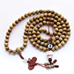 8mm Tibetan Buddhist 108 Sandalwood B...