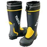 [AITOZ]アイトス 4702_008 29cm TULTEX タルテックス 長靴 鋼製先芯 吸汗性 ドライ裏地 反射テープ 3E   ネイビー×イエロー