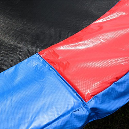 14-Ft-Trampoline-Safety-Pad-EPE-Foam-Spring-Cover-Frame-Replacement-Multi-Color