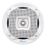 Pyle Lanzar AQ5CXW 400 Watts 5.25-Inch 2-Way Marine Speakers White