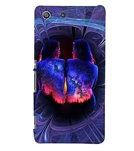 FUSON 3D Designer Back Case Cover foR Sony Xperia M5 D9770
