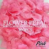 Amazon.co.jpNPオリジナル『フラワーぺタル・ピンク(桃色)100枚(造花のはなびら)』フラワーシャワー花びら