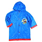 Mickey Mouse Boys Blue Rain Slicker Raincoat
