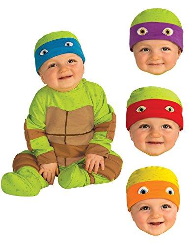 Image - Rubie's Costume Baby's Teenage Mutant Ninja Turtles Animated Series Baby Costume