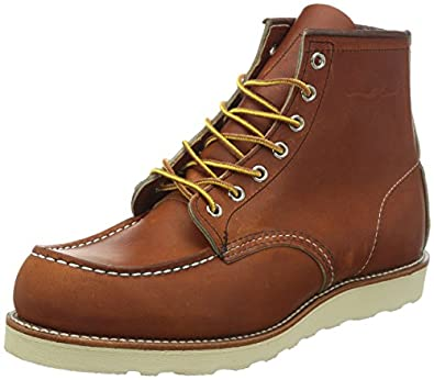 """Red Wing Shoes Men's 6"""" Classic Moc Boot,Oro-iginal,7.5 D US"""