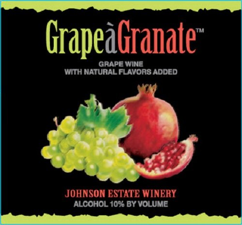 Nv Johnson Estate Grape-A-Granate Grape Wine 750 Ml