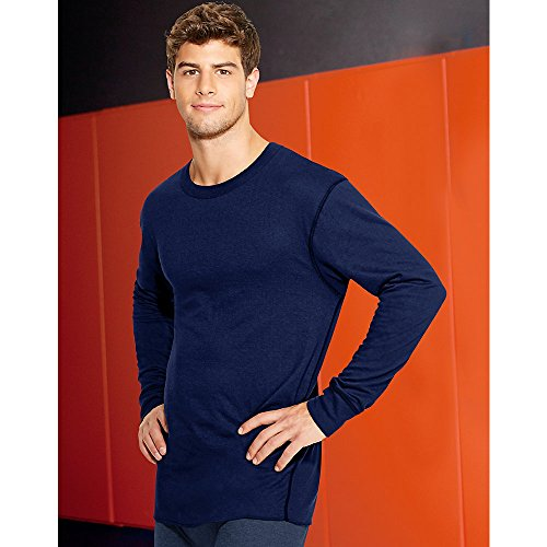 Duofold by Champion Thermals Men's Long-Sleeve Base-Layer Shirt газонокосилка бензиновая champion lm5127bs