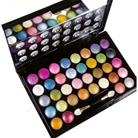 SHANY  Crazy Neon Eyeshadow Makeup Kit, 36 Vibrant Colors, 9-Ounce Box