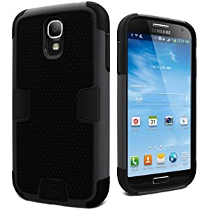 Cygnett CY1194CXWOR Cygnett CY1194CXWOR WorkMate Case for Galaxy S4 - Black - Skin - Retail Packaging - Black