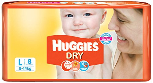 Dry Diapers Large Size