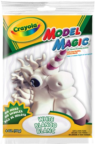 Crayola Model Magic, 4 Oz, Mylar Pouch, White