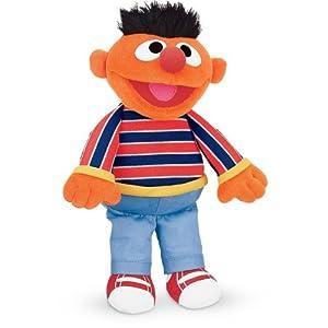 Gund Sesame Street: ERNIE Plush Soft Toy 075365