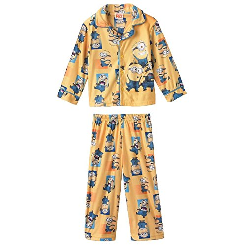 Despicable-Me-2-Minions-Toddler-Little-Boys-Pajama-Set-2T