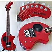 FERNANDES フェルナンデス ミニエレキギター ZO-3 RED アンプ内蔵