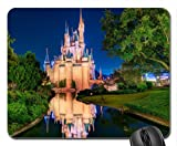 Disney world, Cinderella castle Mouse Pad, Mousepad (Amusement Parks Mouse Pad)