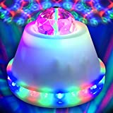 LED Disco Flower Ball Party Light - Ships from USA - LED RGB Rotating Lamp