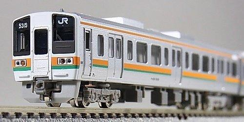 Nゲージ 4208 JR211系5000番代 基本編成4輛 (塗装済完成品)