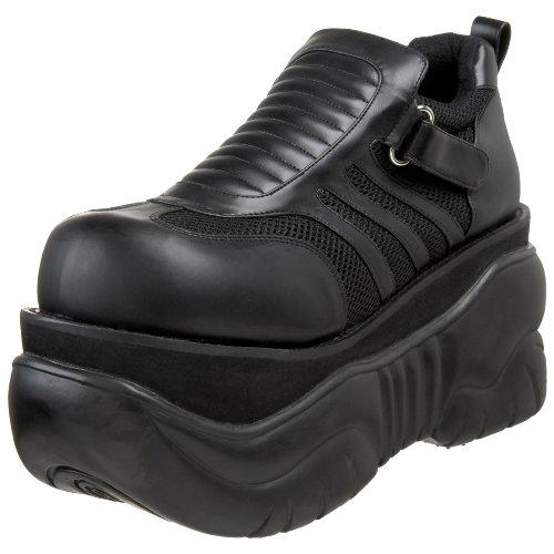 Pleaser Men's Boxer-05 Cyber Shoes,Black PU,7 M US