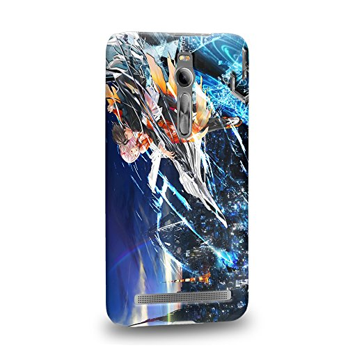 Case88 Premium Designs Guilty Crown GC Funeral Parlor Yuzuriha Inori Shu Ouma 1207 Custodia/Cover Rigide/Prottetiva per ASUS zenfone 2 5.5 inch ZE550ML / ZE551ML