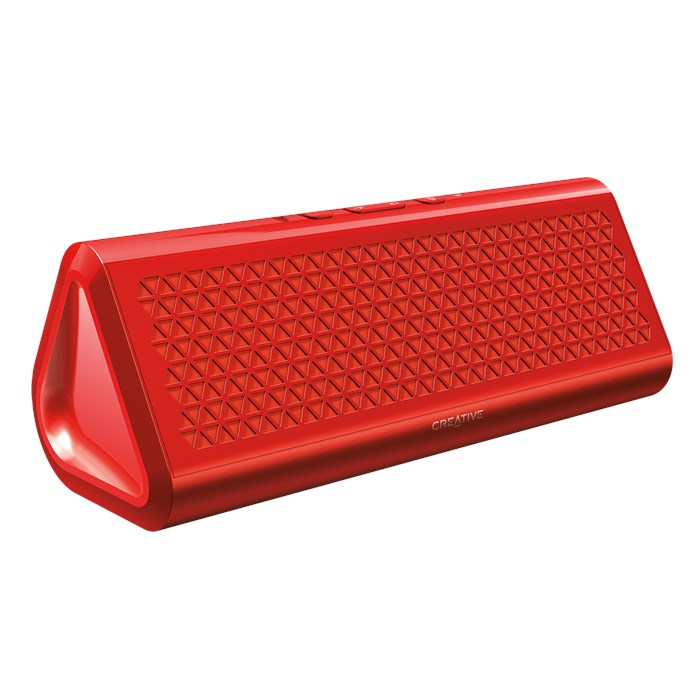 Creative Airwave Hd Portable Wireless Bluetooth Speaker With Nfc (Red)