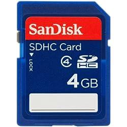 SanDisk SDSDB-004G-B35 4GB Class 10 200x SDHC Memory Card