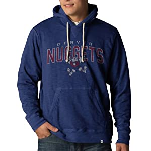 NBA Golden State Warriors Slugger Pullover Hoodie Jacket, Bleacher Blue by