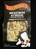 Chef Mickey's Mickeyroni & Cheese Pasta & Cheese Mix : Serves 4 to 6