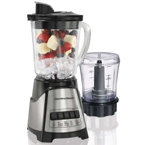 HB Blender Food Chopper Black 58149 By Hamilton Beach